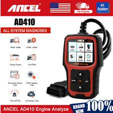 AD410 OBD2 Car Engine Check Code Reader Erase Fault code Scanner Diagnostic Tool