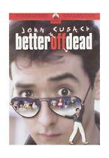 Better Off Dead John Cusack Multiple Formats Color Ntsc Parampount 1Hour 37Min