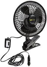 New listing 12 Volts Oscillating Fan 90 Degrees Cigarette Plug for Cars Trucks Rv's Brandnew
