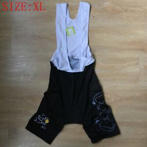 Men's Padded Shorts / Bibs Coolmax Cycling Knickers Cycling Bib Shorts Size XXL