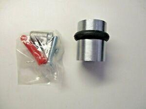 """Hager 248F US26D Floor Mount 1-1/2"""" Door Stop Bumper Satin Chrome Heavy Quality"""