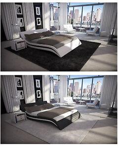 Designer Bettgestell ACCENT Bett Bettrahmen Betten Rahmen Gestell TOP Design