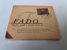 "CD ""FADO TUDO ISTO E FADO VOL 4"" CD 14 TRACKS PRECINTADO SEALED ANTONIO ROCHA CA"