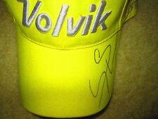 Meena Lee signed/Auto Volvik Hat LPGA
