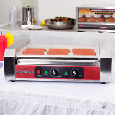 Grand Slam 24 Hot Dog Roller Grill with 9 Rollers 110V, 1350W