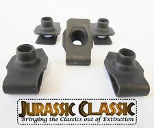 1946-1980 Ford 5pk 3/8-16 Extruded Fender U-Nuts Clips Hood Body Panel Trunk