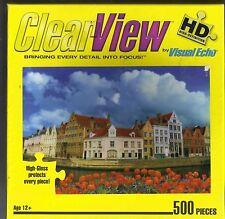 Brugge, Belgium Copyrignt Jim Zuckerman ClearView HD Puzzle 500 Pcs.by Hobbico