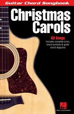 Christmas Carols Sheet Music Guitar Chord Songbook NEW 000699536