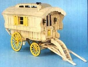 Ledge Caravan Matchstick Construction model Kit Match-Craft- NEW