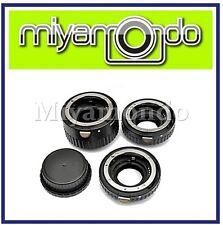 3 Ring Auto Focus MACRO Extension Tube Set for Nikon