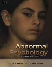 Abnormal Psychology: An Integrative Approach - Barlow & Durand *Hardcover*