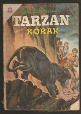 Tarzan #163 Korak Comic Spanish Mexican Novaro 1965