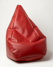 Chillizone Bean Bag Red Vinyl Adult Size 200 ltr
