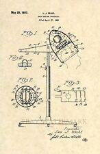 Official Hair Dryer US Patent Art Print- Vintage Stylist Wahl Antique Salon 145