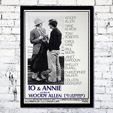 Movie Poster Io & Annie Woody Allen - 35X50 CM