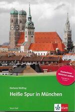 LIVRE APPRENTISSAGE ALLEMAND / HEIBE SPUR IN MÜNCHEN - STEFANIE WÜLFING