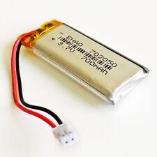 JST 2.0mm 3.7V 700mAh Lipo Rechargeable Battery for DVD GPS Camera PSP 702050