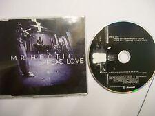 MR. HECTIC Spread Love – 2002 UK CD – Hip House, Jazz Funk - RARE!