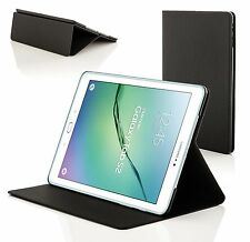 Clam Shell Smart Case Cover for Samsung Galaxy Tab S2 9.7 T810 Black