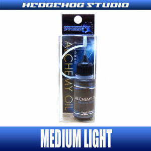 HEDGEHOG Alchemy Medium Light Oil Lubricant 10ml Fishing Reel Bearing Lube