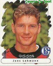 183 JENS LEHMANN GERMANY FC SCHALKE 04 STICKER FUSSBALL 1996 PANINI