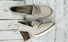 TIMBERLAND LESLIE ANNE MOCASSIN TAUPE WOMEN'S PUMPS SHOES SIZE 9