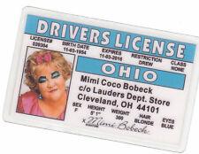 Mimi Coco Bobeck of the Drew Carey Show Cleveland Rocks Ohio Oh Drivers License