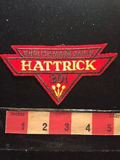 Patch English Mark Darts Hat Trick 301 ~ Hattrick 60WH