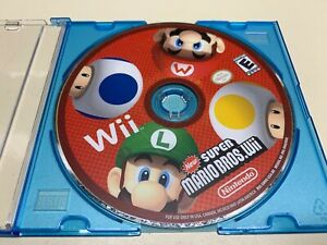 New Super Mario Bros. Wii (Nintendo Wii, 2009) Clean / Tested /