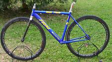 FRM frameset+seatpost telaio bici corsa alluminio easton forcella frame road