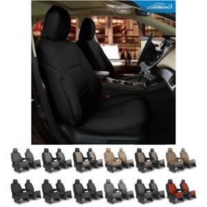 Seat Covers Leatherette For Honda CR-V Coverking Custom Fit