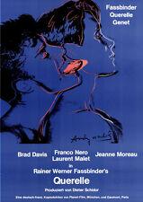 Querelle ORIGINAL DIN A1 Plakat GEROLLT Rainer Werner Fassbinder / ANDY WARHOL