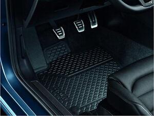 Volkswagen VW Golf Fußmatten Gummi Vorne Schwarz  5G1061502A 82V