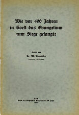 Niemöller, come prima 400 J. in Soest il Vangelo per vittorie è giunta, Jahn 1933