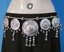 Womens Medallion BELT Belly dance Costume Skirt Pants Scarf Jewelry Boho Tribal