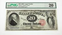 1880 $20 United States Note Fr #144 Graded by PMG as Very Fine 20