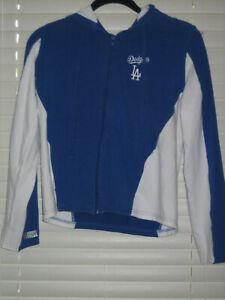 Los Angeles Dodgers Woman's Hooded Sweatshirt, Blue, Medium, NWOT