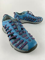 Chaco Outcross Evo 2 J104930 Braided Athletic Water Shoes Blue Womens Size 8