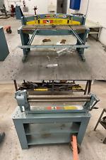 Junior Pittsburgh Roper Whitney Co 152 Foot Shear Machine Manual Roll Bending