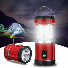 Power Solar LED Lantern Outdoor Night Rechargeable Camping Light Lamp Tent Lamp