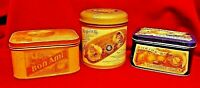 Lot of 3 Tins from -The Tin Company - Heinz Pickles / Heinz Jelly / Bon Ami