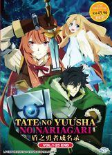 DVD Anime The Rising Of The Shield Hero TV Series (1-25 End) English Audio Dub