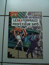 JACOBS / BLAKE  ET MORTIMER / LES 3 FORMULES .... /  DOSSIER DE PRESSE