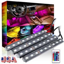 USA STOCK 9LED Strip Car Interior Footwell Floor Decorative Atmosphere Lamp d