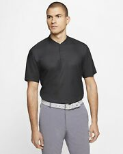 Brand New Nike Golf Tiger Woods Dri Fit Vapor Blade Polo Black Ct3799 070