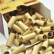 120x HORNET PRE ROLLED Natural UnRefined Cigarette Filter Rolling Paper Tip Tool