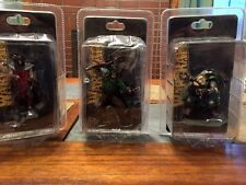 Complete Warcraft Battle Collection Figures Medivh Hellscream Rifleman Unopened