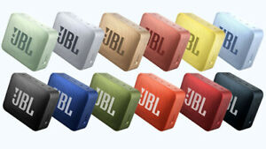 JBL GO 2 Portable Bluetooth Waterproof Speaker All Colors