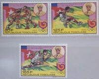 TOGO 1989 2119-21 A 1520-22 Olympics Olympia 1988 Seoul Stiftung Sports MNH