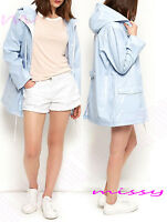 WATERPROOF COAT  Festival Rain Mac Ladies coat Womens Jacket Size 8 10 12 14 16N